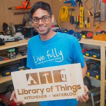 Library of Things, co-founded by Laurier graduate student, set to launch in Kitchener-Waterloo