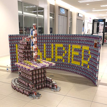 "Faculty of Science's award-winning ""Canstruction"" raising money for food bank"